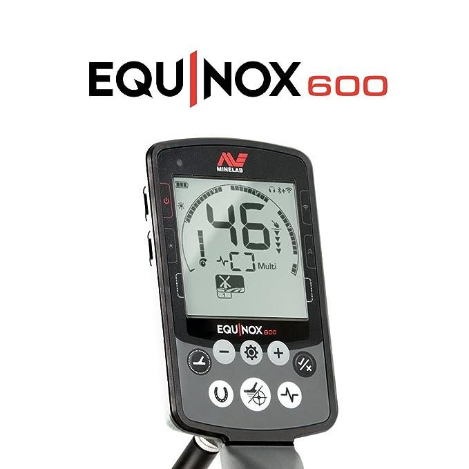 Amazon.com : Minelab EQUINOX 600 Multi-IQ Metal Detector with Pro-Find 35 Pinpointer : Garden & Outdoor