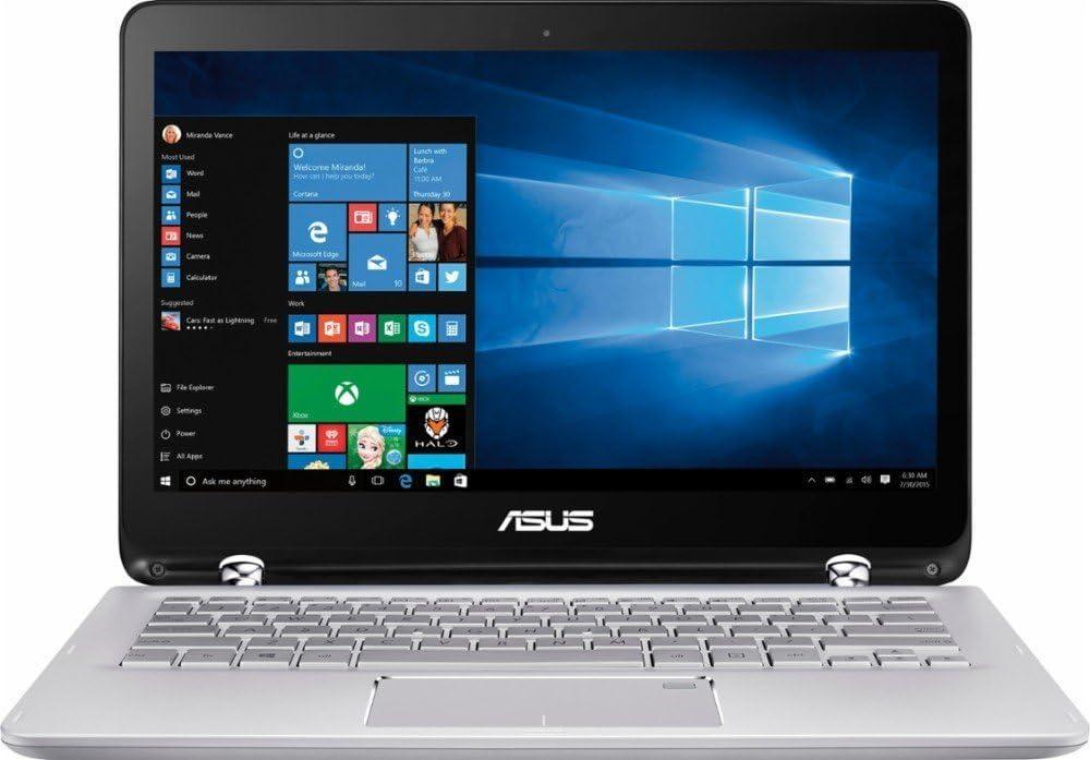 2017 ASUS 13.3 inch 2-in-1 Touchscreen FHD (1920 x 1080) Laptop PC, 7th Intel Core i5-7200u, 6GB DDR4 SDRAM, 1TB HDD, Backlit Keyboard, Built-in fingerprint reader, HDMI, Bluetooth, Windows 10