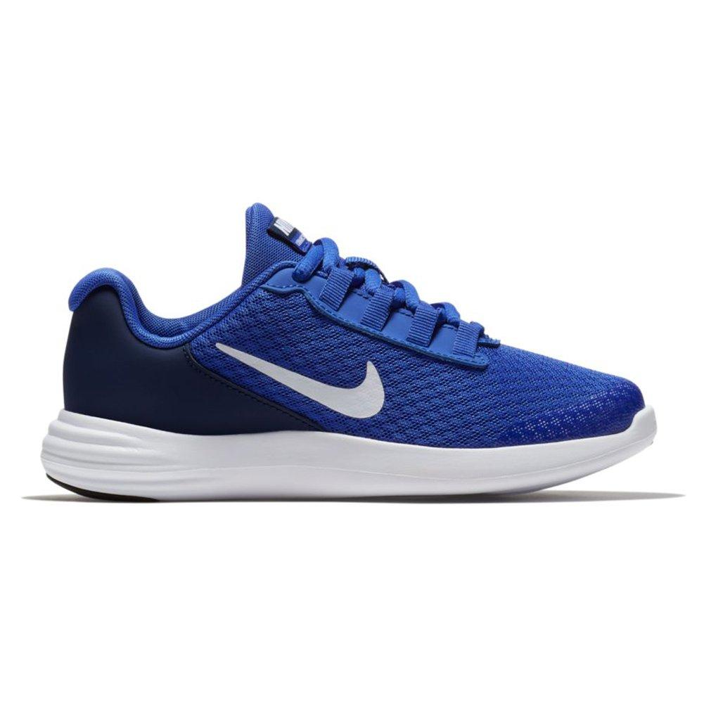 Nike Boy's (PS) Lunarconverge Lunarconverge Lunarconverge Athletic Running schuhe (12 M US Little Kid, Paramount Blau Weiß Binary Blau schwarz) 637874