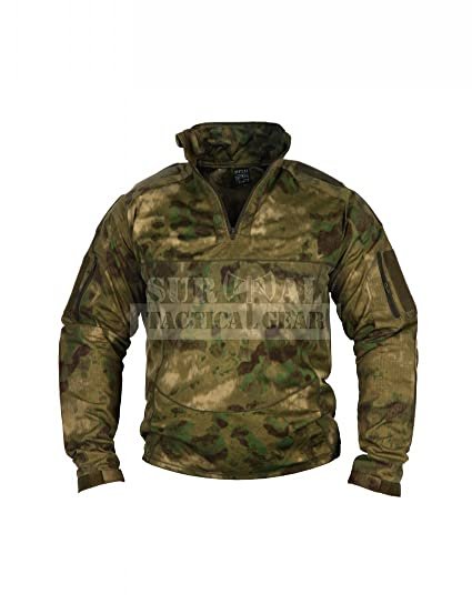 a6bb2a28 ZAPT Men Military Airsoft Combat BDU Shirt US Army Gen3 Tactical Shirt with Elbow  Knee Pads