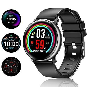 TagoBee TB15 Reloj móvil Ip67 Waterproof Smart Watch 1.22 IPS Color Screen Activity Watch Fitness Trackers con monitor de presión arterial, monitor ...