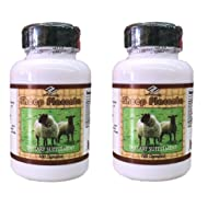 2 bottles Sheep Placenta Complex 100 Capsules /bottle, by Nu-Health