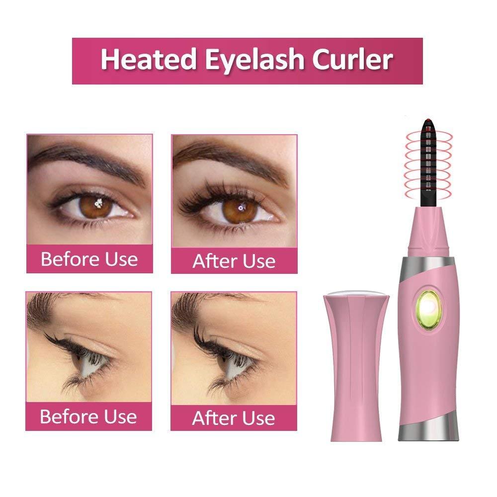 Amazon Heated Eyelash Curler With Comb Design Lash Curler