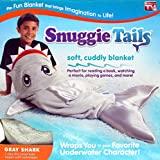 Snuggie Tails for Kids, Grey Shark