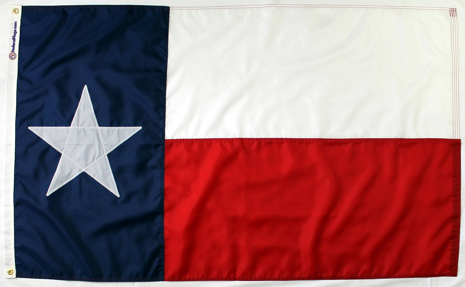 State of Texas Flag - Fully Sewn Nylon (6'x10') by Federal Flags