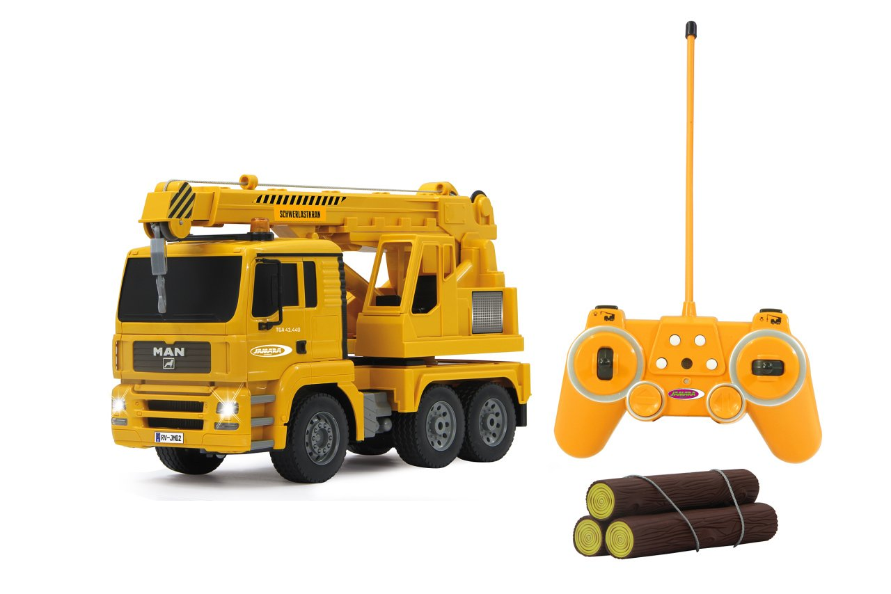 RC Mobilkran MAN 1:20 mit Lich: Amazon.de: Spielzeug