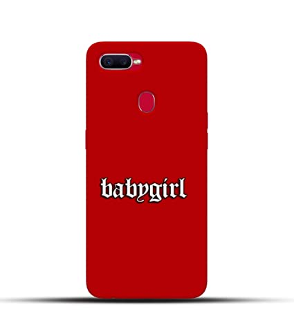Pikkme Quotequotes Babygirl With Red Background Amazonin