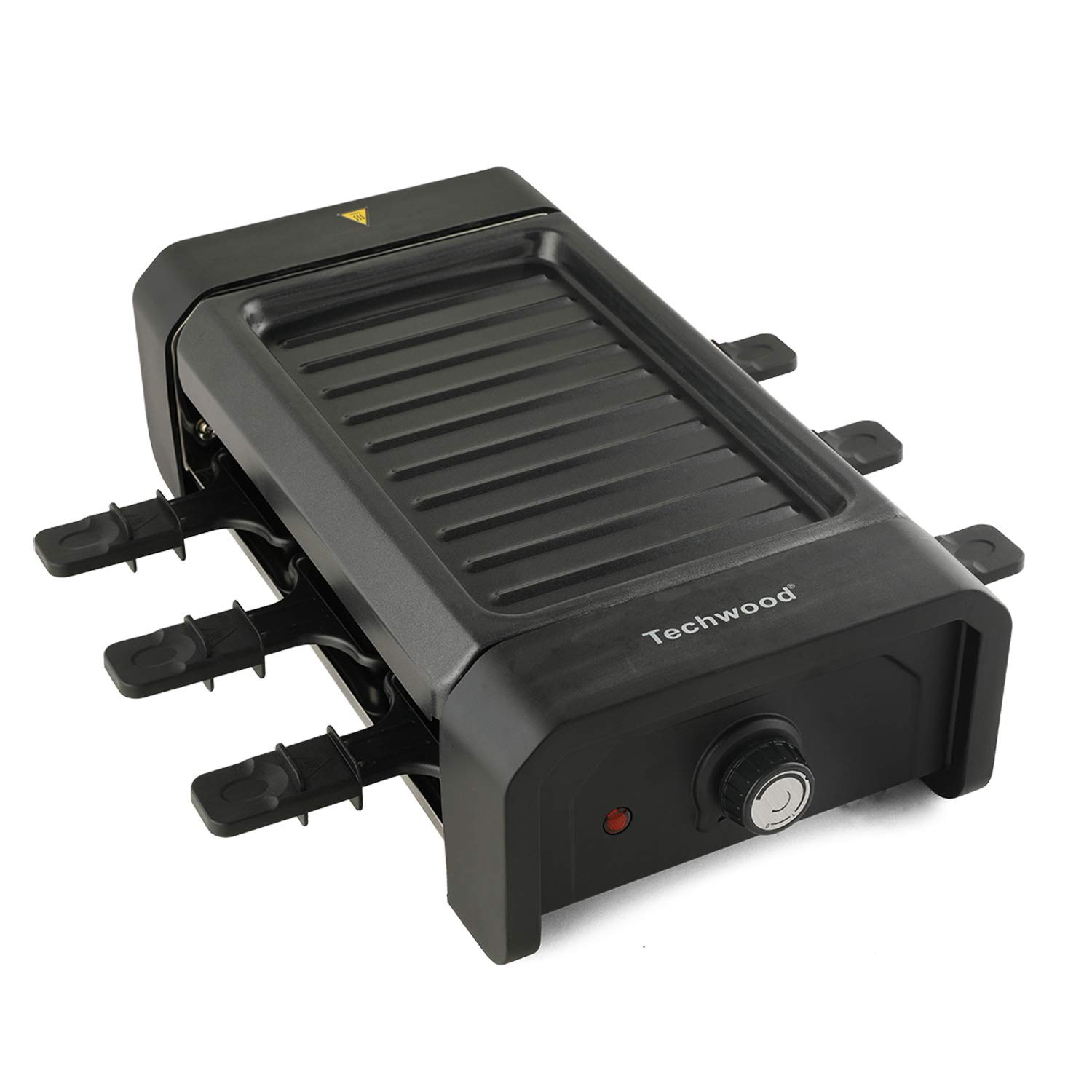 Techwood Raclette Grill, Electric Grill for 6 Person, 900W Table-Top Grill