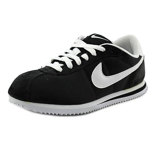 pick up buy sale dirt cheap Nike Kids' Cortez 07 Nylon Walking Shoe Black/White (5.5 ...