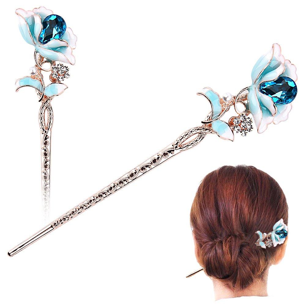 Amazon Com Chinese Traditional Hair Chopsticks Hair