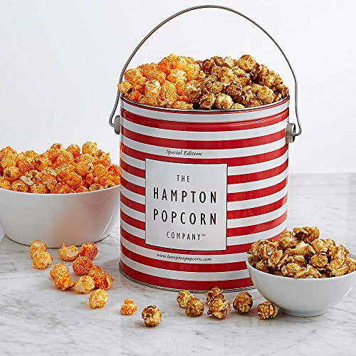 Shari's Berries - 1 Gallon Classic Popcorn Duo - 1 Count - Gourmet Baked Good Gifts