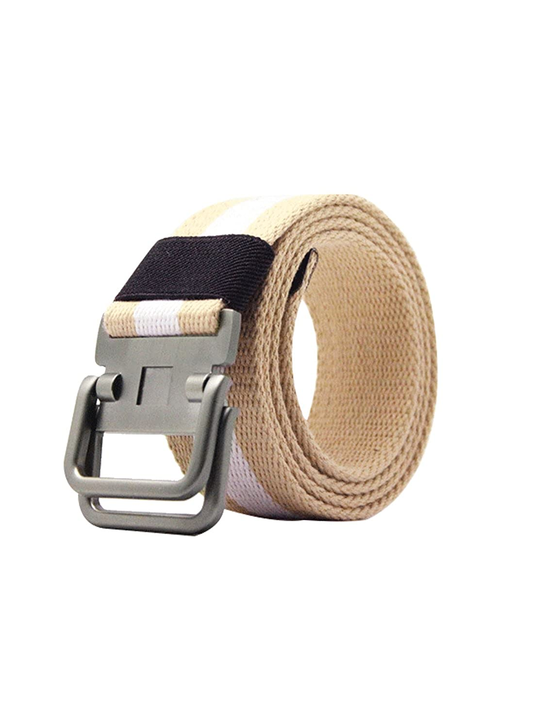 uxcell Unisex Canvas Web Belt with Metal Slide Buckle Width 1 1//2 Inches