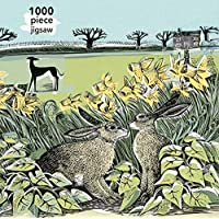 Adult Jigsaw Puzzle Angela Harding: Look Out!: 1000-piece