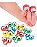 12 Oobi Eye Finger Puppets (Receive 12 per order)
