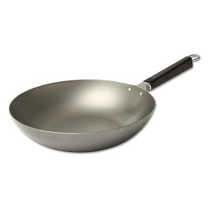 Joyce Chen Pro Chef 30 cm 30,48 cm acero al carbono Pekín sartén