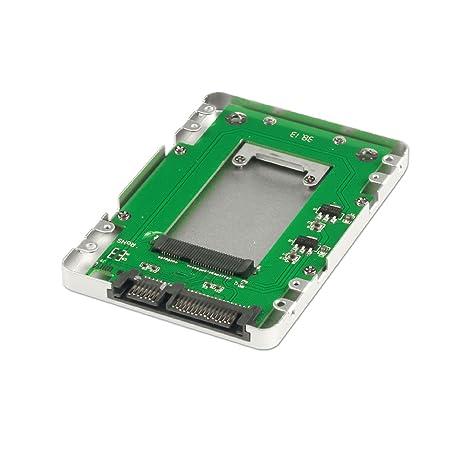 Lindy Caja para disco duro mSATA SSD a SATA (2,5