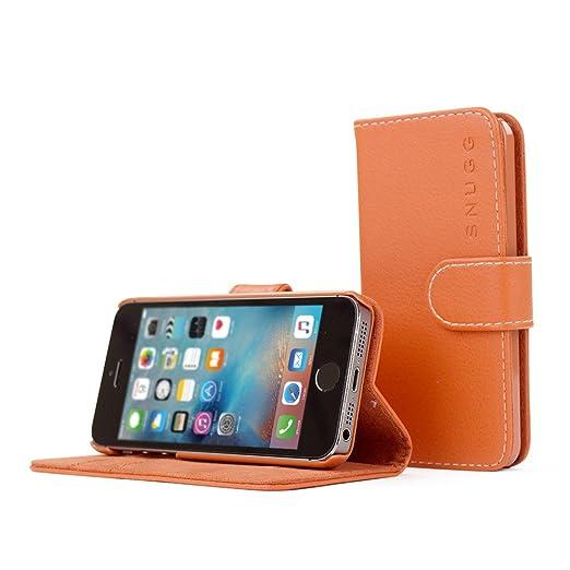 3 opinioni per Cover iPhone SE, Snugg Apple iPhone SE Flip Custodia Case [Slot Per Schede]
