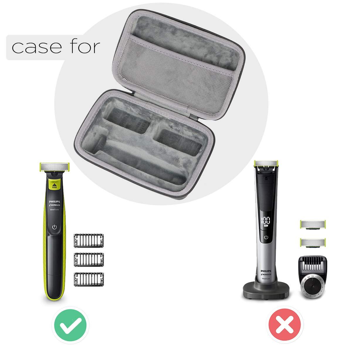 Amazon.com: co2crea - Funda rígida de viaje para afeitadora ...