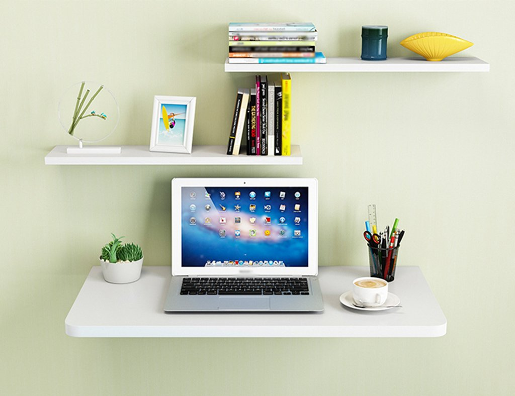 ペイント折り畳み式コンピュータデスクダイニングテーブル壁掛けラップトップデスク壁掛けテーブル学習テーブル色サイズオプション ( サイズ さいず : 90*50cm ) B07B7FVHGR90*50cm