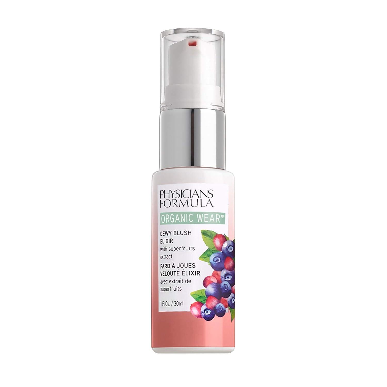 Physicians Formula Organic Wear Dewy Blush Elixir, Apricot Glow, 0.5 Fl Ounce