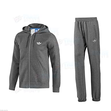 adidas originals trainingsanzug grau