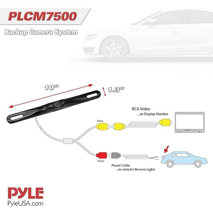Pyle plcm7500 7 inch window suction mount tft amazon electronics asfbconference2016 Choice Image