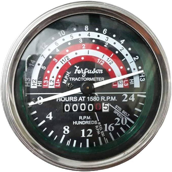 Massey Ferguson Tachometer Gegen Den Uhrzeigersinn Mf 35 133 135 140 Auto