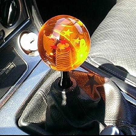 Ocamo Creative Dragon Ball Universal Manual Gear Shift Knob Stick Acrylic Shifter Lever Head 4 stars