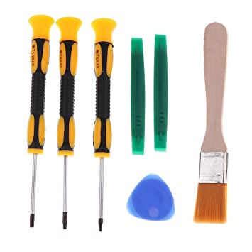 Homyl Kit herramientas 7 en 1 destornillador palanca T6, T8, T10 ...