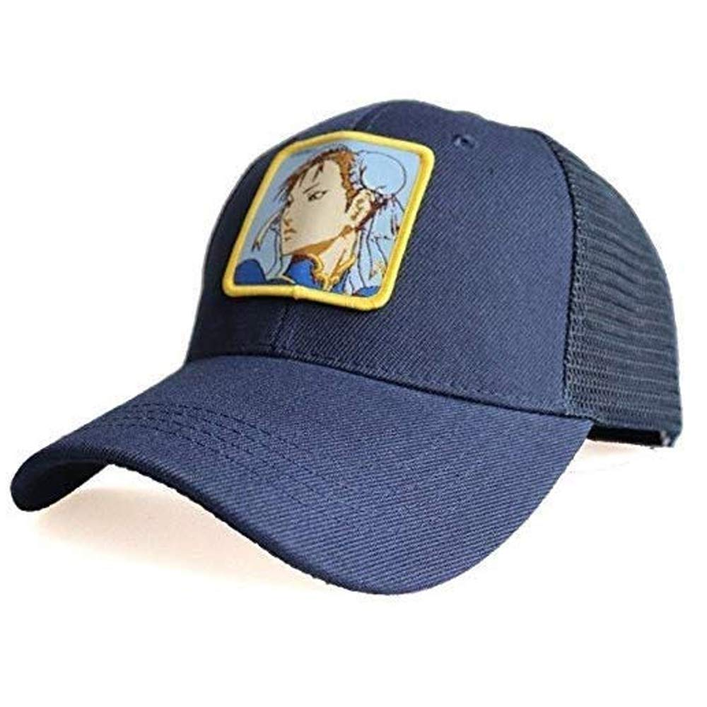 newfashion Gorra Visera Curva Trucker Street Fighter Chun Li Azul ...