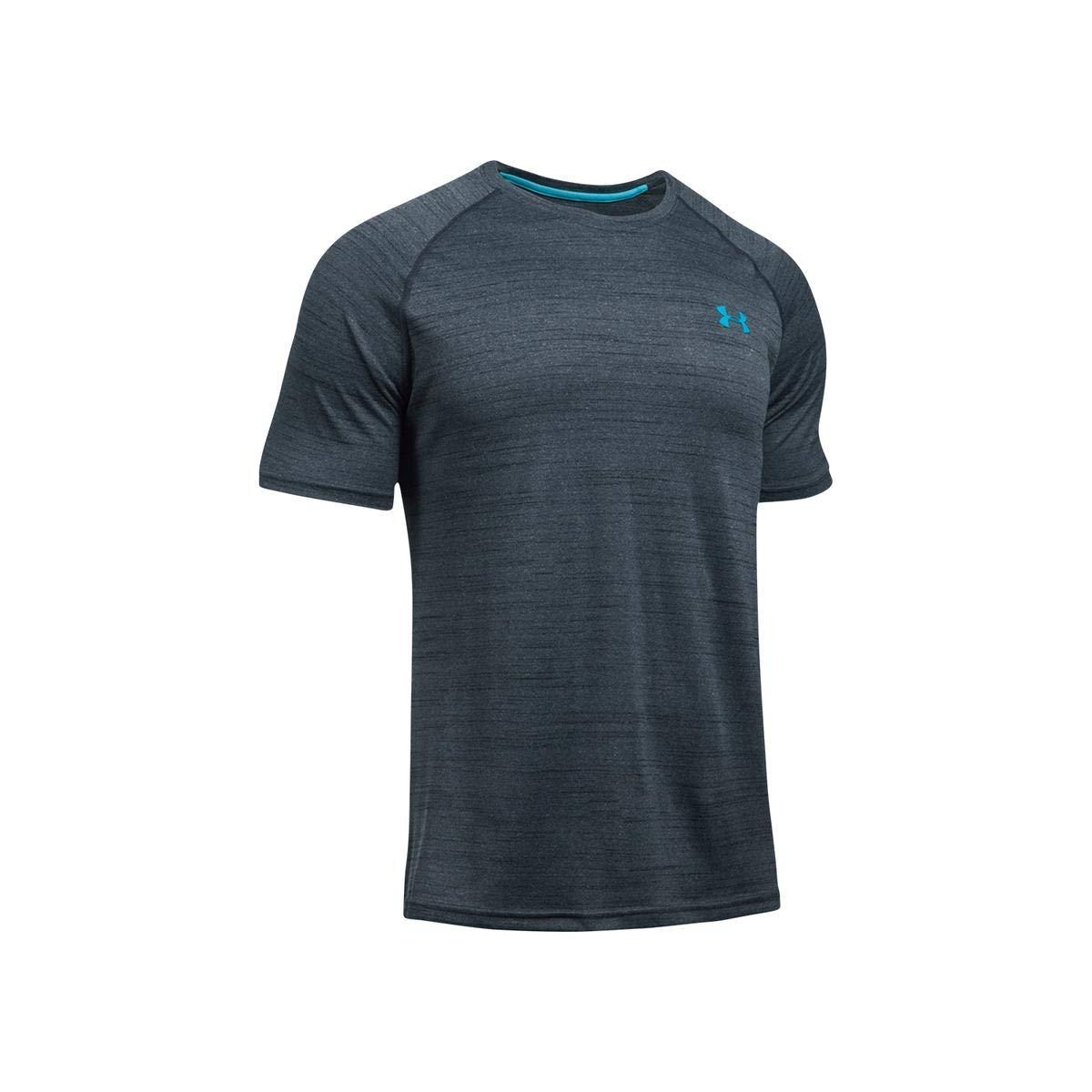 【セール 登場から人気沸騰】 [アンダーアーマー] Grey/Blue トレーニング/Tシャツ Small テックTシャツ Grey/Blue 1228539 メンズ B01MRX6QLP Stealth Grey/Blue Small Small|Stealth Grey/Blue, シントミチョウ:7318977d --- svecha37.ru