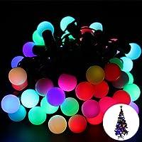 Buffer P91YT2566 Minik Top 40 Ledli Dolama Dekor Işıkları, RGB 5m
