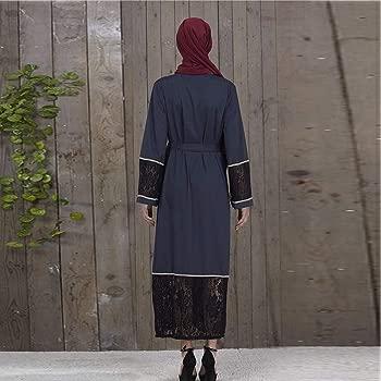 NPRADLA Large Falda Las Mujeres del Estilo de Dubai abren Frente ...