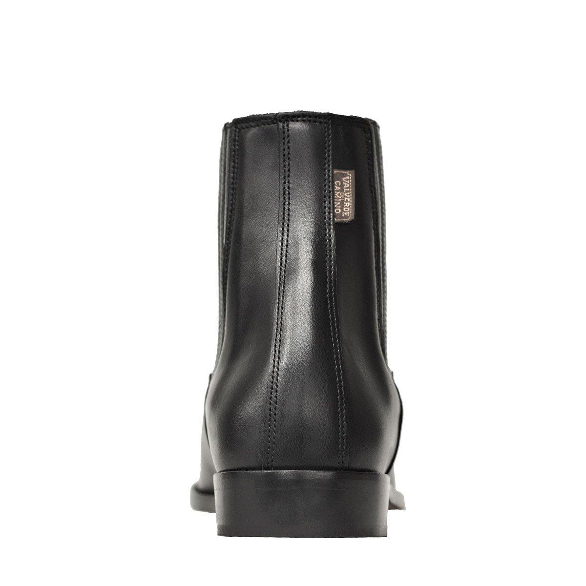 515TE Botas y Botines Piel Negro para Hombre y Mujer Chelsea clásica elástico Valverde del Camino: Amazon.es: Zapatos y complementos