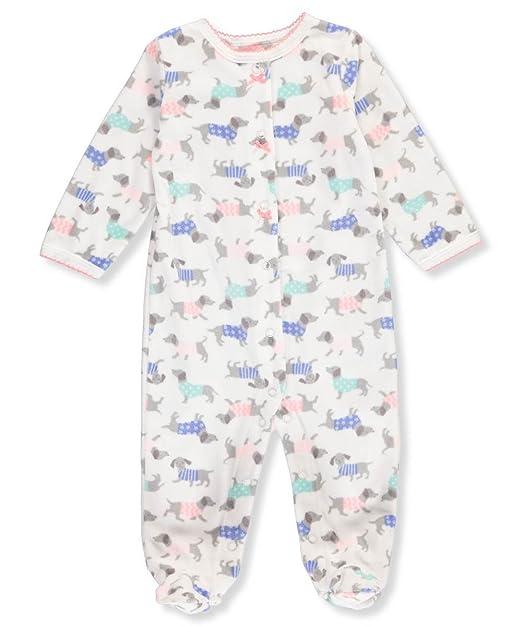 Amazon.com: De Carter bebé Niñas Perro Imprimir Sleep & Play ...