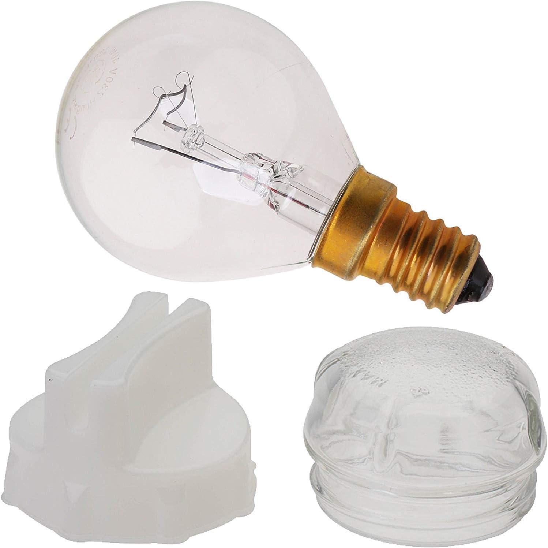 Forno 639157 LAMPADE COPERCHIO VETRO ø41mm
