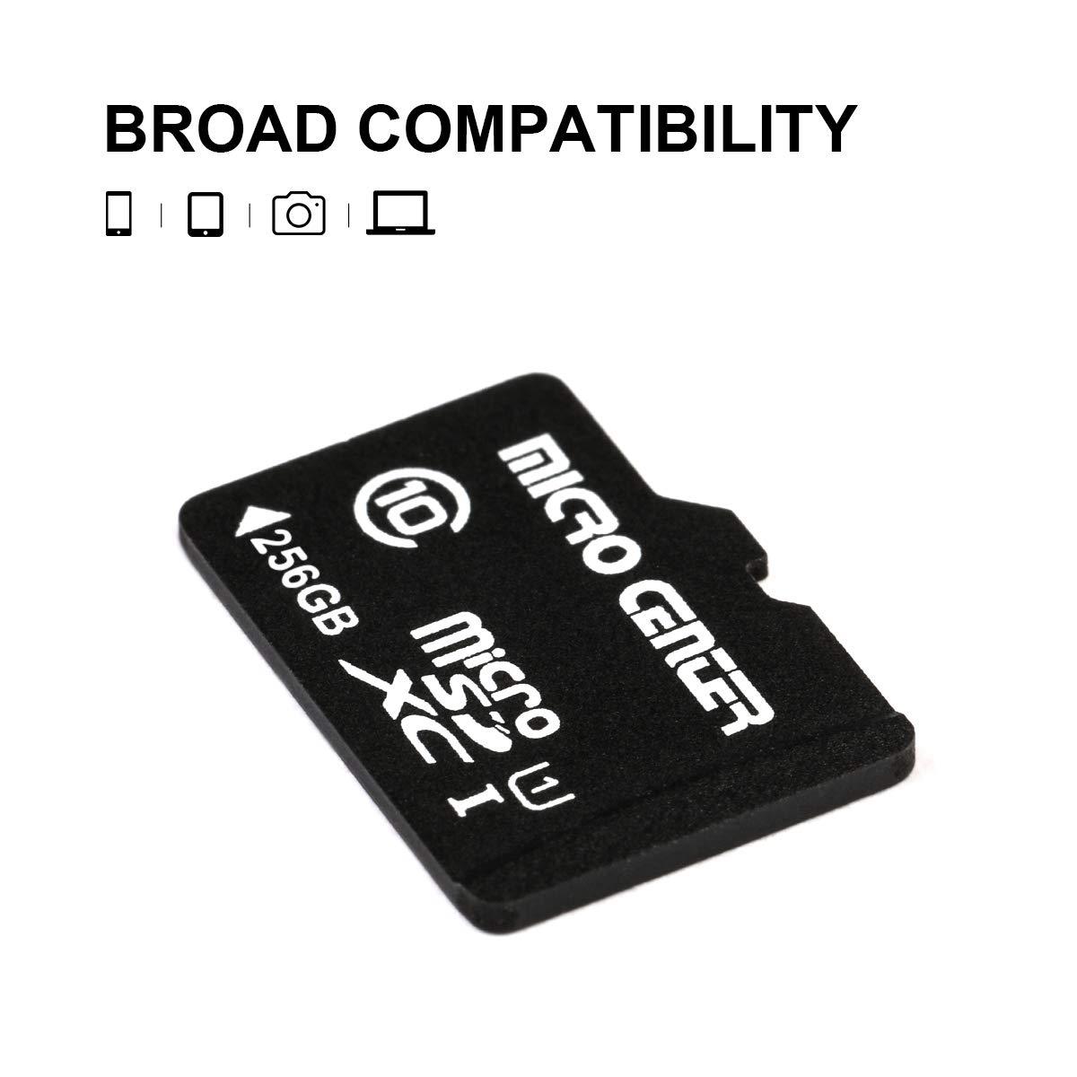 Micro Center 32GB Micro SD Card with SD Card Adapter Class 10 Micro SDHC Flash Memory Card