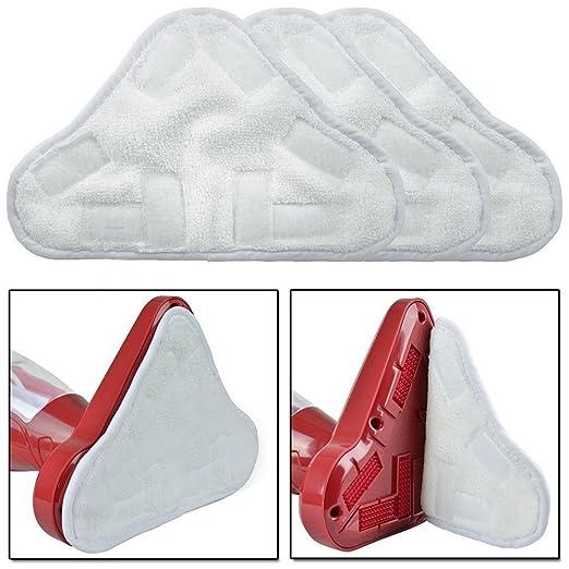 Stonges - Nuevo juego de 6 almohadillas de repuesto lavables en el suelo MOP de microfibra X5: Amazon.es: Hogar