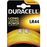 Duracell LR44/AG13/V13 GA - 2 Pile a bottone alcaline 1 confezione