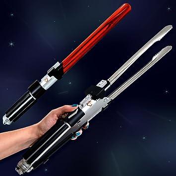 Star Wars Lichtschwert Grillzange Offizielles Darth Vader Sound ...