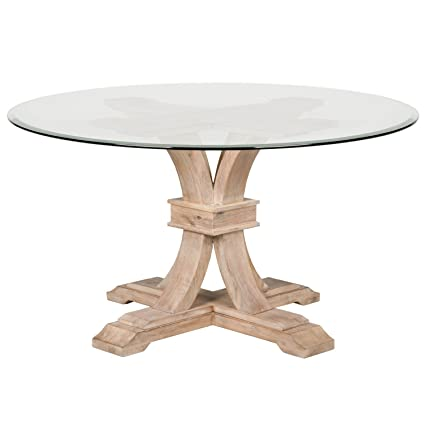 Gentil Image Unavailable. Image Not Available For. Color: Devon Round Glass Dining  Table ...