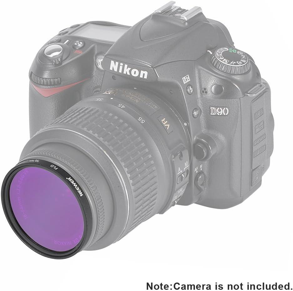 Neewer filtro de la lente Kit de accesorios de hilo superior (58 ...