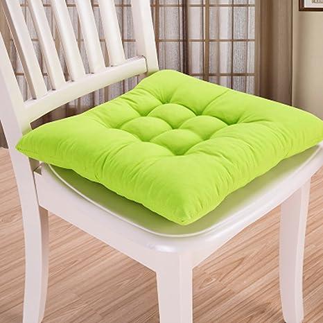 Cuscino per sedia, 9 colori, lavabile, per sala da pranzo, giardino, cucina, auto Taglia libera Fruit Green