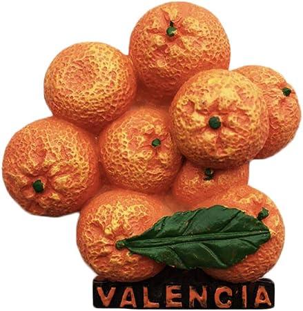 Wedare 3D Valencia España Imán para Nevera, Resina magnética, decoración para el hogar y la Cocina de China: Amazon.es: Hogar