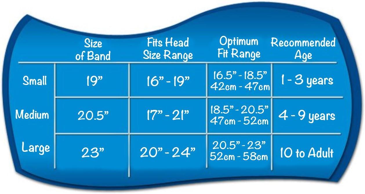 vorbehaltlich die Stecker Ohren sicher Teal Ear Band-It Diadema Schwimmen erfunden von einem Arzt beh/ält Wasser 4-9 die Stecker Ohren Mittel