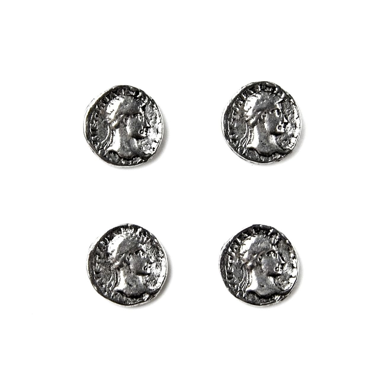 Quality Handcrafts Guaranteed Roman Coin Tuxedo Studs