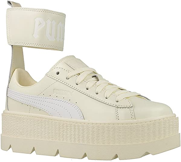 Puma Women's Ankle Strap Sneaker Ankle High Leather Fashion