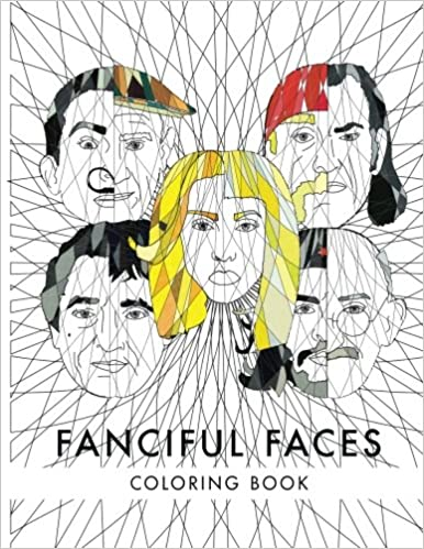Fanciful Faces Coloring book (Celebrity Coloring Book ...