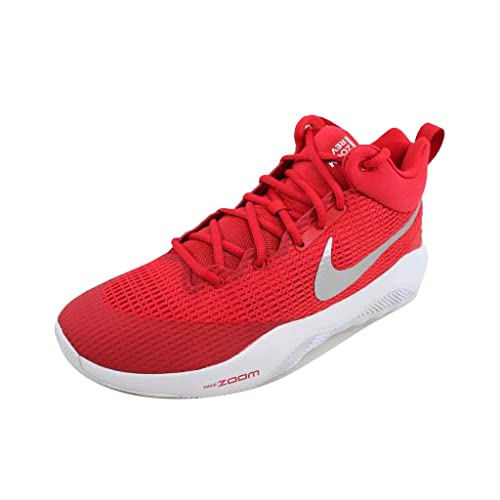 sneakers for cheap 0f3f8 e713c Nike Men s Zoom Rev TB Basketball Shoes Red Metallic Silver-White (922048-