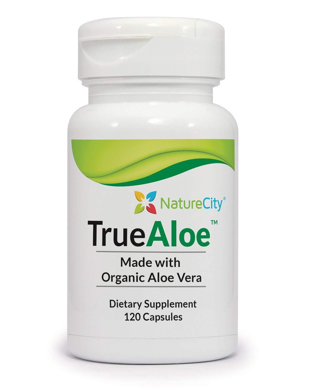 TrueAloe 100% Organic Aloe Vera Supplement by NatureCity (Image #4)